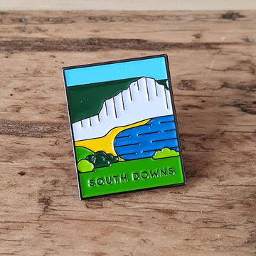 South Downs pin