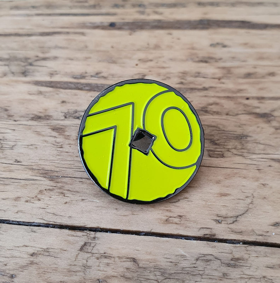 Peak District 70th Anniversary Pin