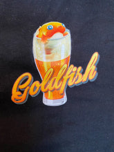 "Load image into Gallery viewer, Catfish/Golding's Free Dive GBW 2019 Collab 'Goldfish"" shirt"