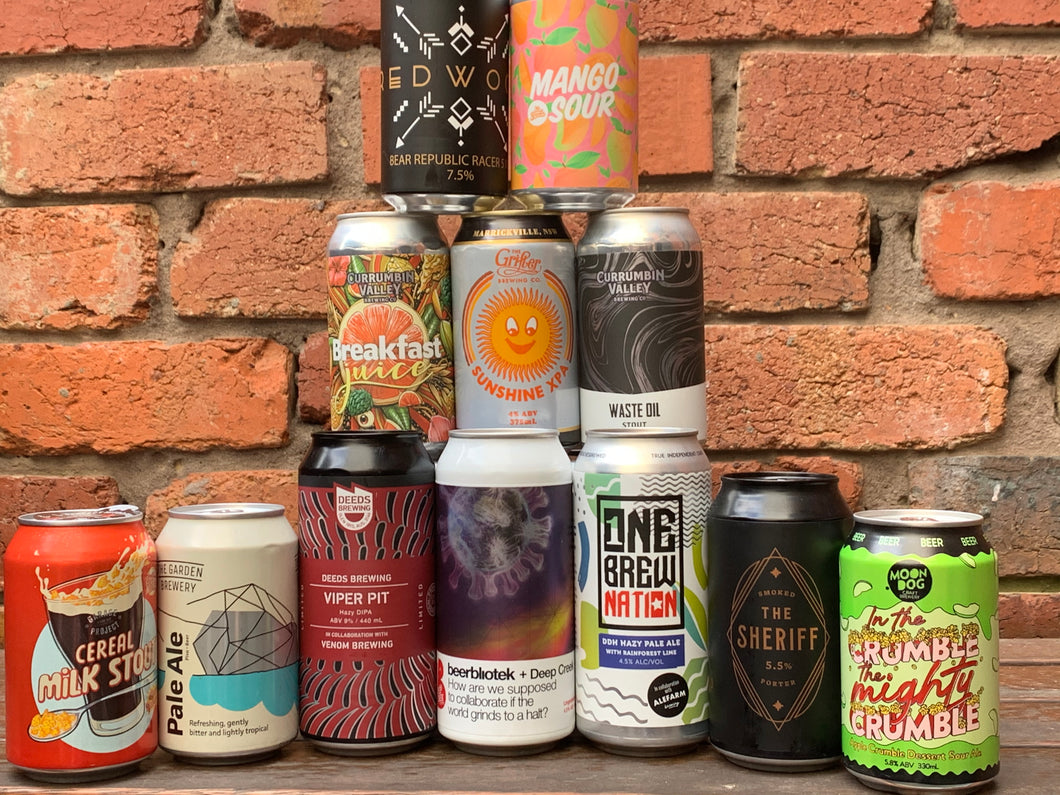 Muddy's Mix Pack (12 hand selected beers)