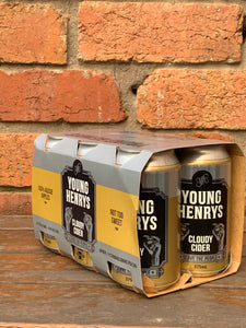 Young Henry's Cloudy Cider (6 pack)