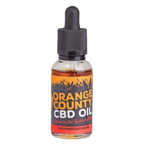 Orange County 6000mg CBD oil - CBD Specialist Macclesfield