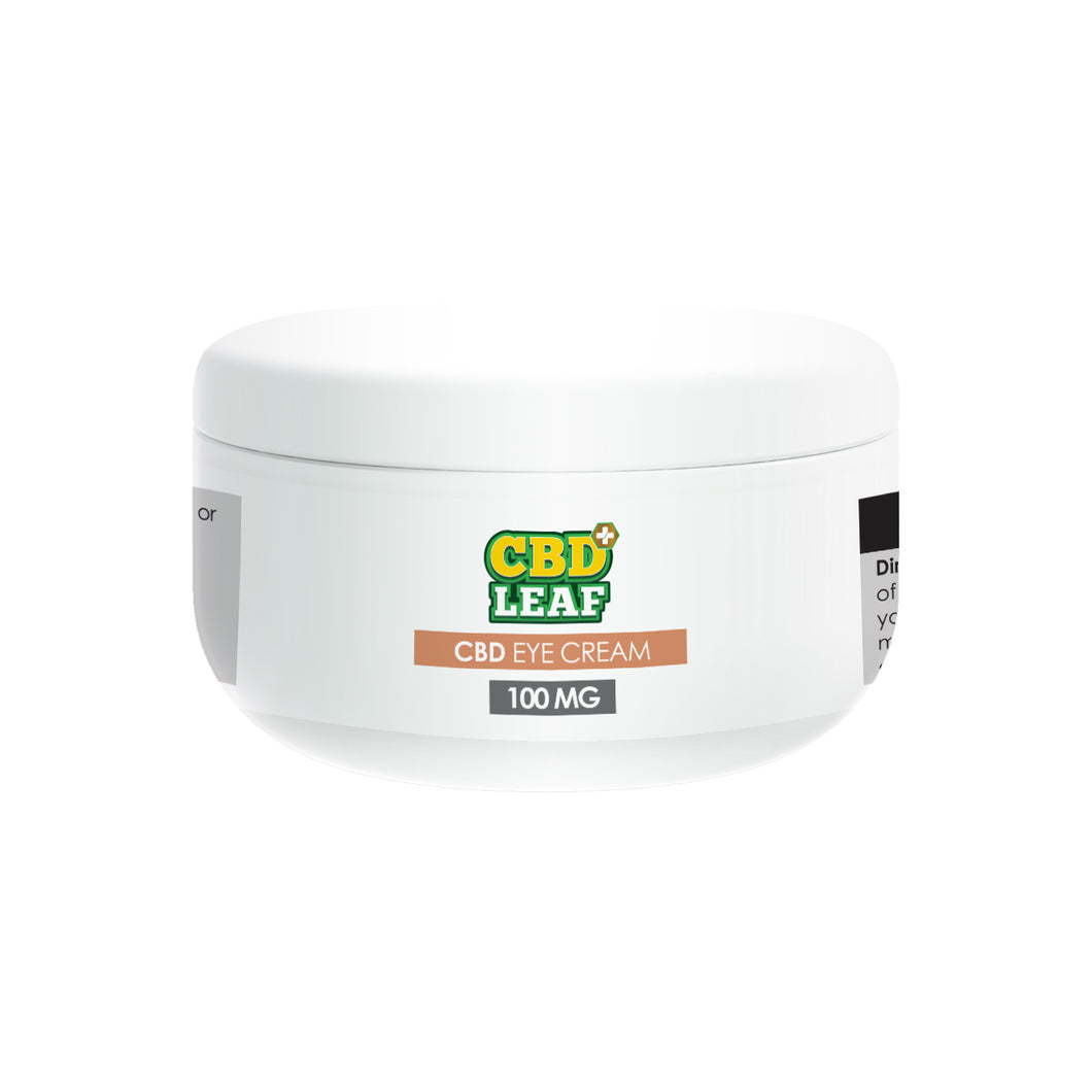 CBD LEAF Eye Cream 100mg - CBD Specialist Macclesfield