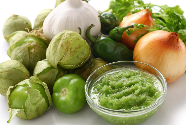 Tomatillo Avocado...a zesty dip...