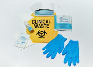 Body Fluid Spill Kit with surface disinfectant (inc GST)