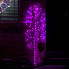 Load image into Gallery viewer, Spooky 6FT Halloween Purple Tree