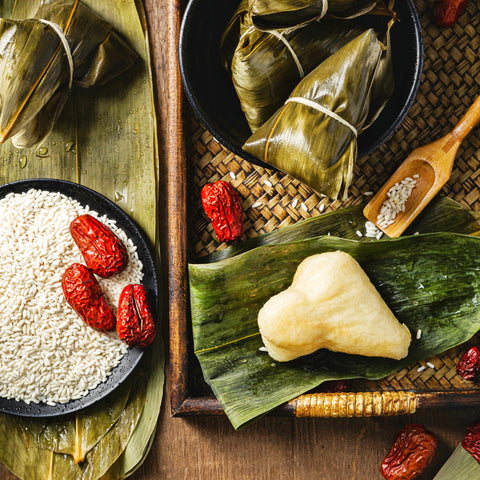 A Brief Look at the History and Traditions on the Upcoming Dragon Boat Festival [端午節] on June 14 at Tuk Tuk Mart, the online Asian supermarket