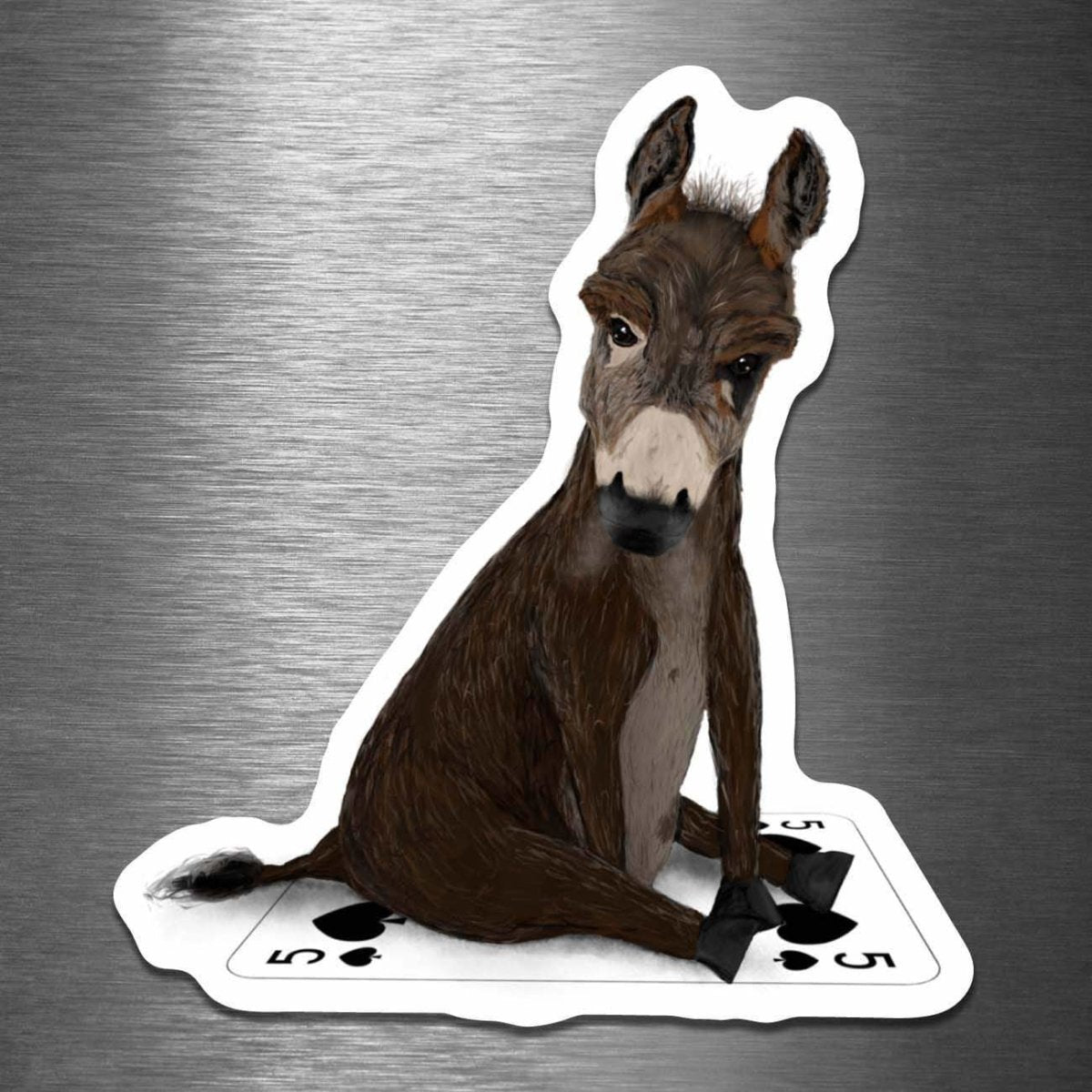 Badass on a Playing Card - Vinyl Sticker - Dan Pearce Sticker Shop