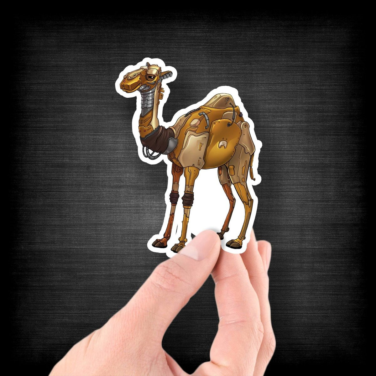 Camel Robot - Vinyl Sticker - Dan Pearce Sticker Shop