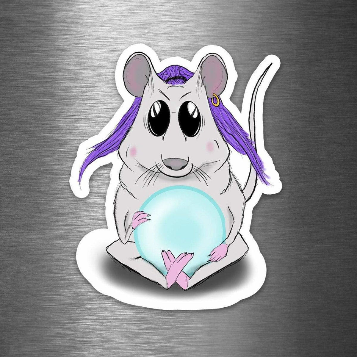 Gypsy Mouse - Vinyl Sticker - Dan Pearce Sticker Shop