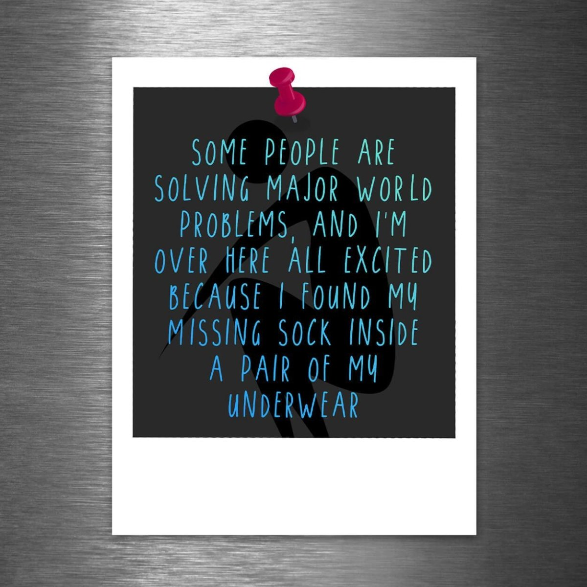 Some People Are Solving Major World Problems, and I'm Over Here Like... - Vinyl Sticker - Dan Pearce Sticker Shop