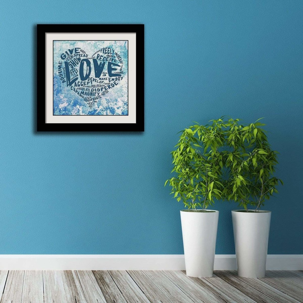 "The Official Fine Art ""LOVE"" Print (#3) - Dan Pearce Sticker Shop"