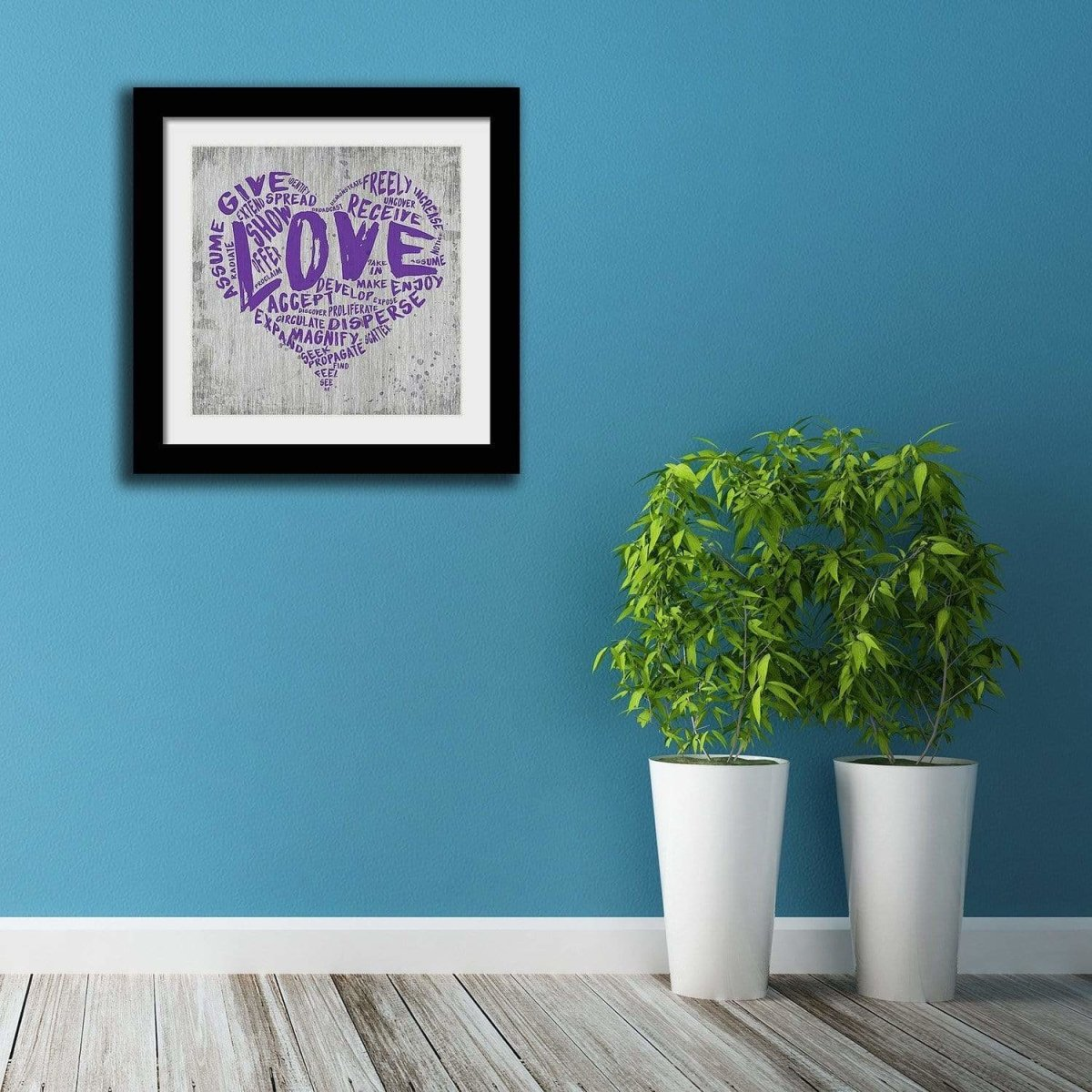 "The Official Fine Art ""LOVE"" Print (#5) - Dan Pearce Sticker Shop"