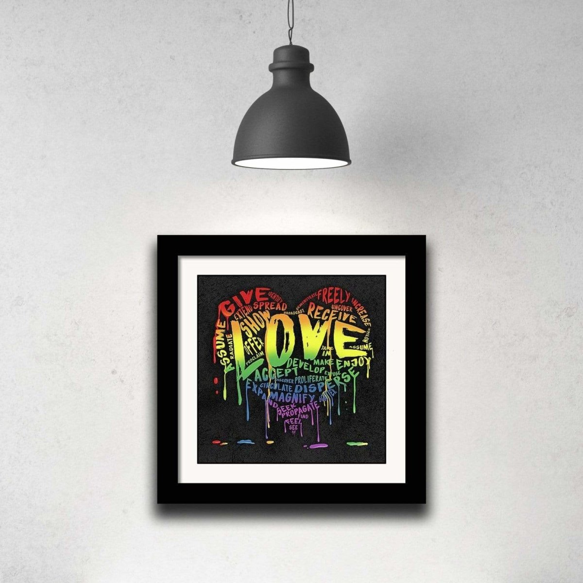 "The Official Fine Art ""LOVE"" Print - Dan Pearce Sticker Shop"