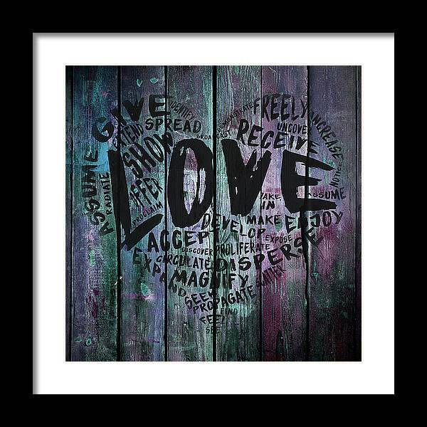 "The Official Fine Art ""LOVE"" Print (#9) - Dan Pearce Sticker Shop"
