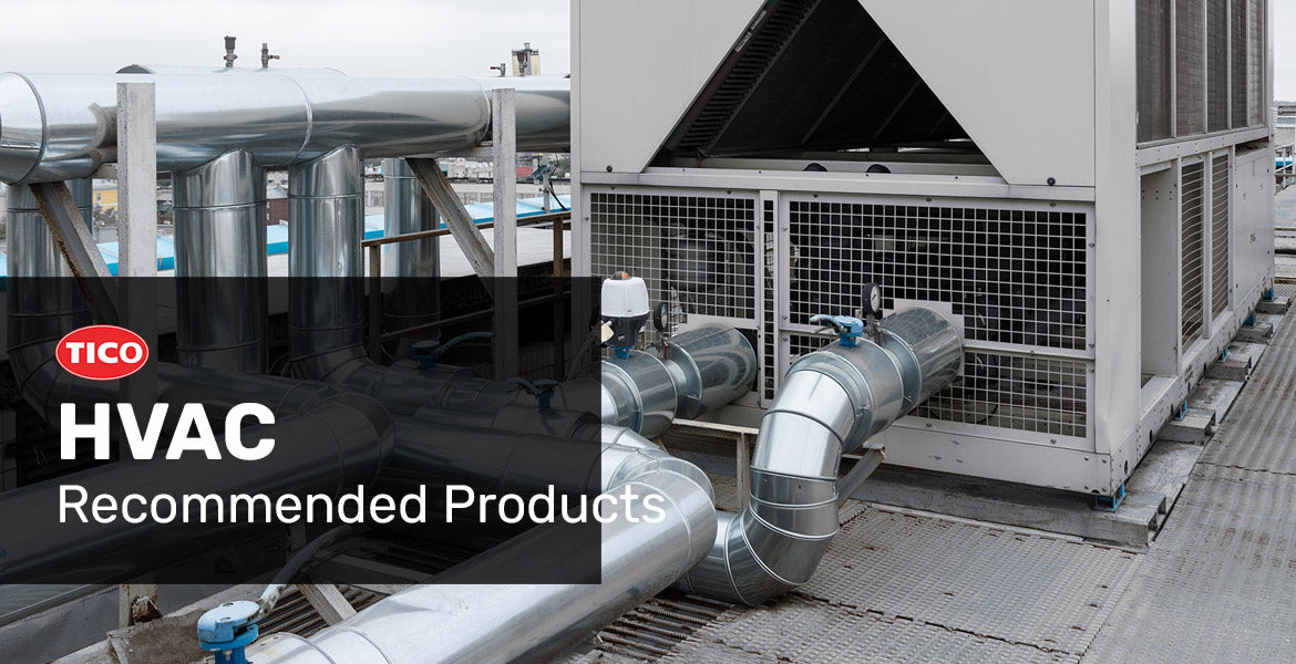 HVAC products recommended to help with vibration control