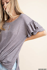 Ryan Frill Sleeve Top