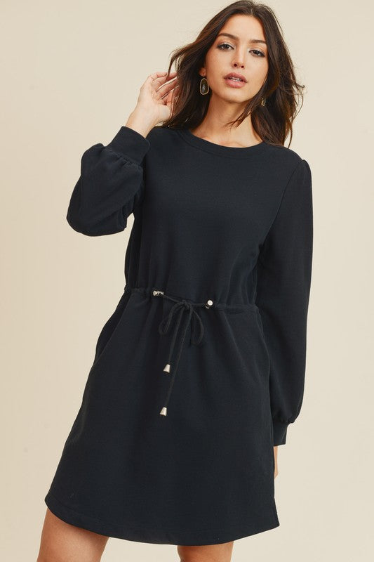 French Terry Casual Dress