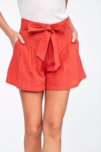 Reagan High Waist Shorts
