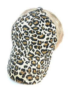 Animal Print Trucker Hat