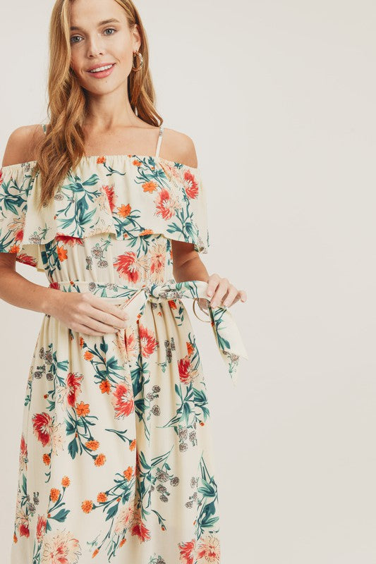 Beachside Floral Dress