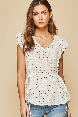 Dots For Days Top