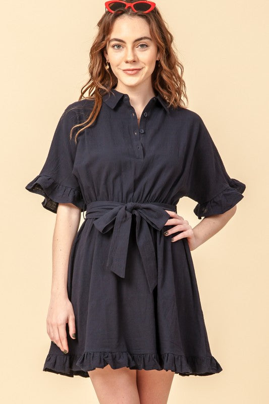 For the Memories Ruffle Dress