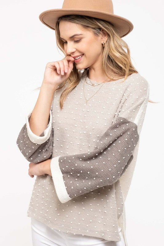 Call Me Dots Sweater
