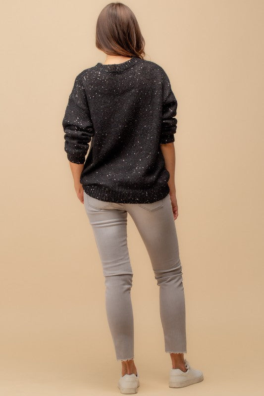 Sparkle Knit Sweater
