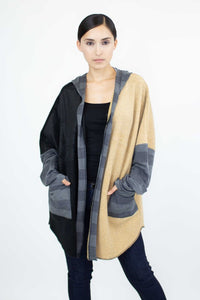 It's Time Color Block Cardigan