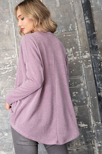 Drop Shoulder Dolman