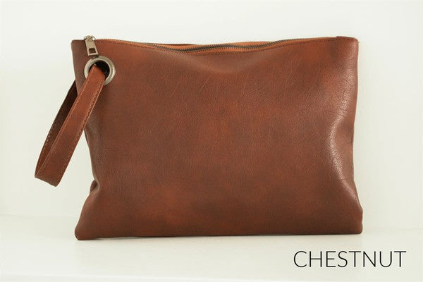 Oversized Grommet Clutch