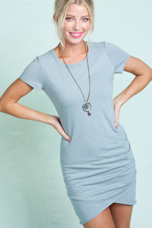 Only Ruched Mini Dress