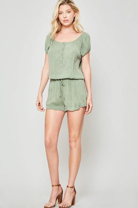 Leighton Off Shoulder Romper