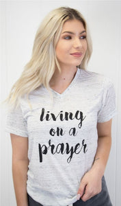 Living on a Prayer V-Neck