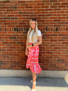 Moments of Tie Dye Wrap Skirt