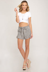 Beverly Gingham Shorts