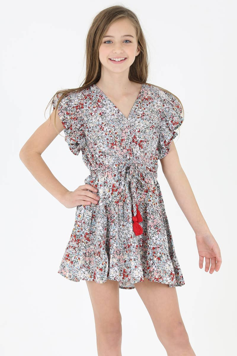 Kid's Ruffle Detail Dress