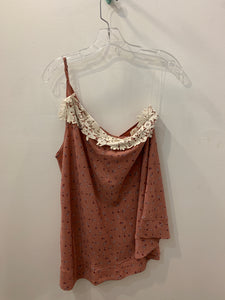 Asymmetrical One Should Lace Top