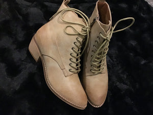Lilliana Lace up Boots