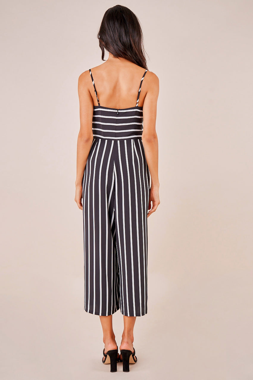 Change of Plans Stripe Jumpsuit