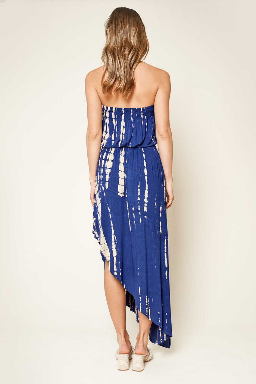 Anything but Basic Tie Dye Maxi Dress