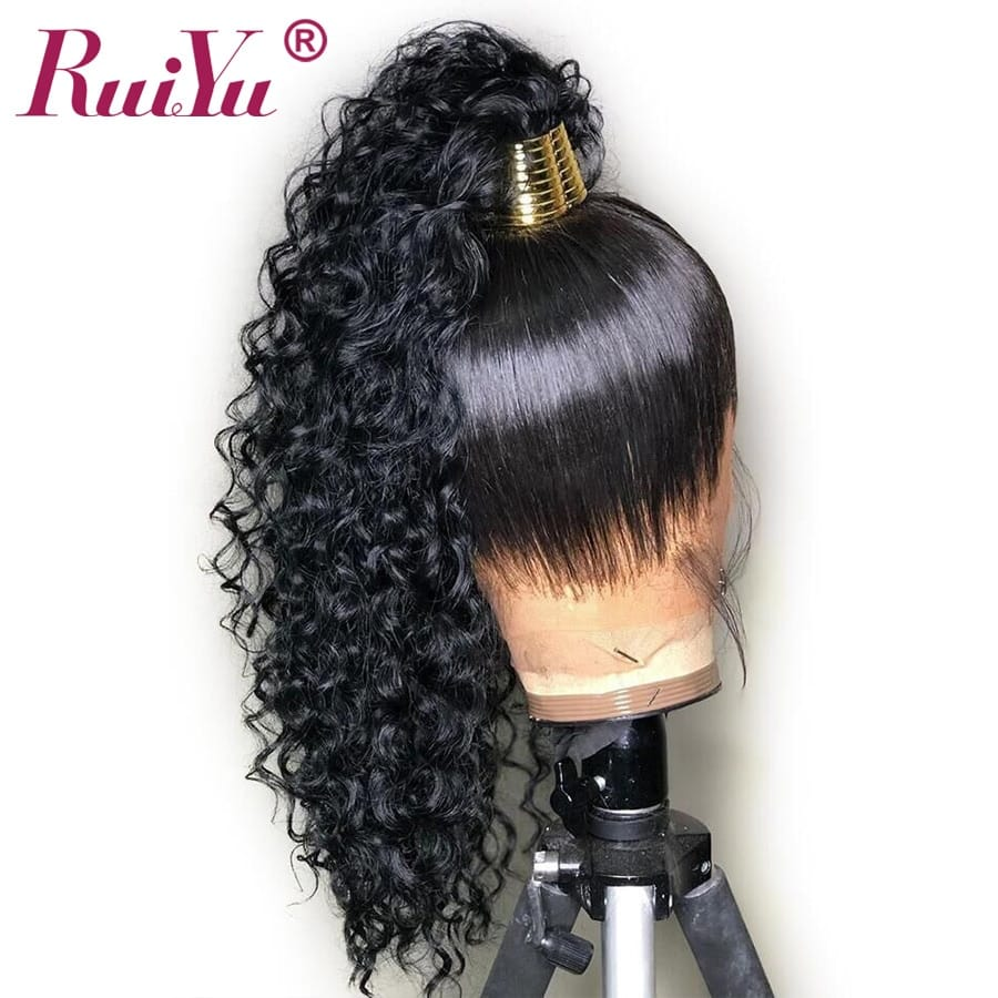 13X4 Deep Wave HD 360 Lace Front Wig Human Hair