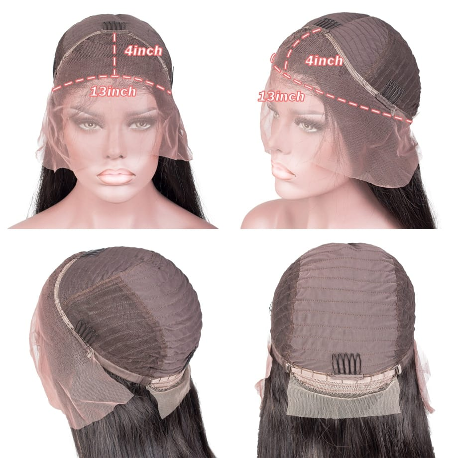 30-34 Inch HD Loose Deep Wave Lace Front Wig