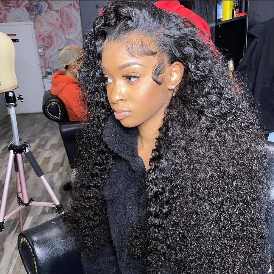 30-34 Inch Loose Deep Wave HD 13x4 Wet And Wavy Water Wave