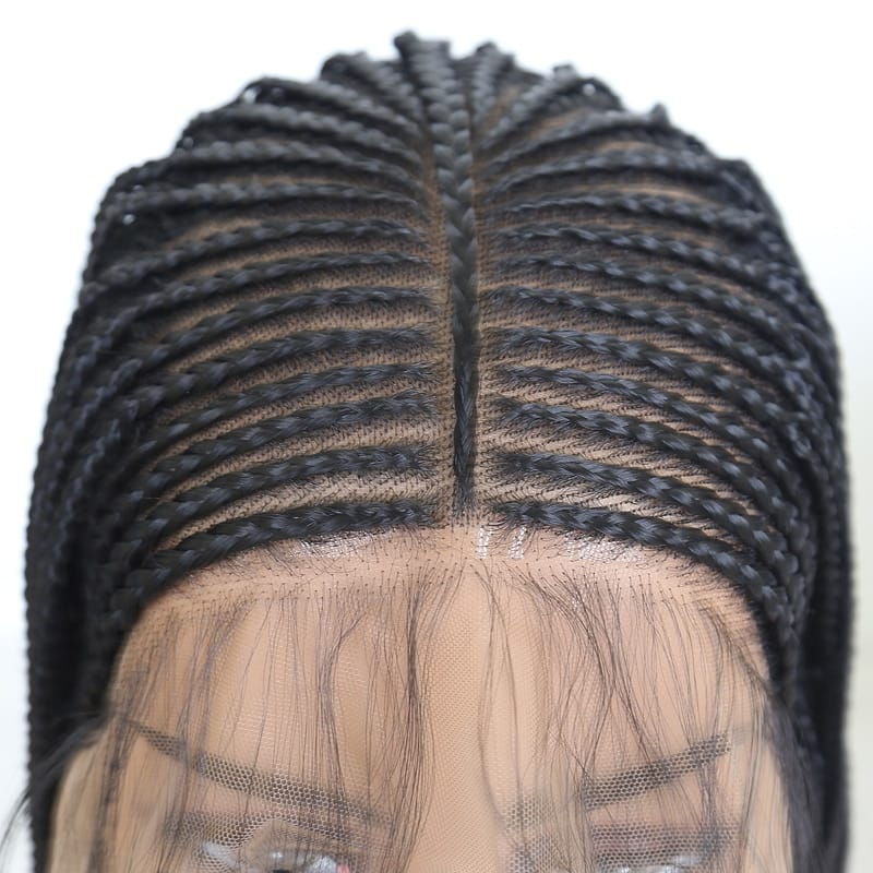 Box Braids Long Synthetic Lace Front Wigs