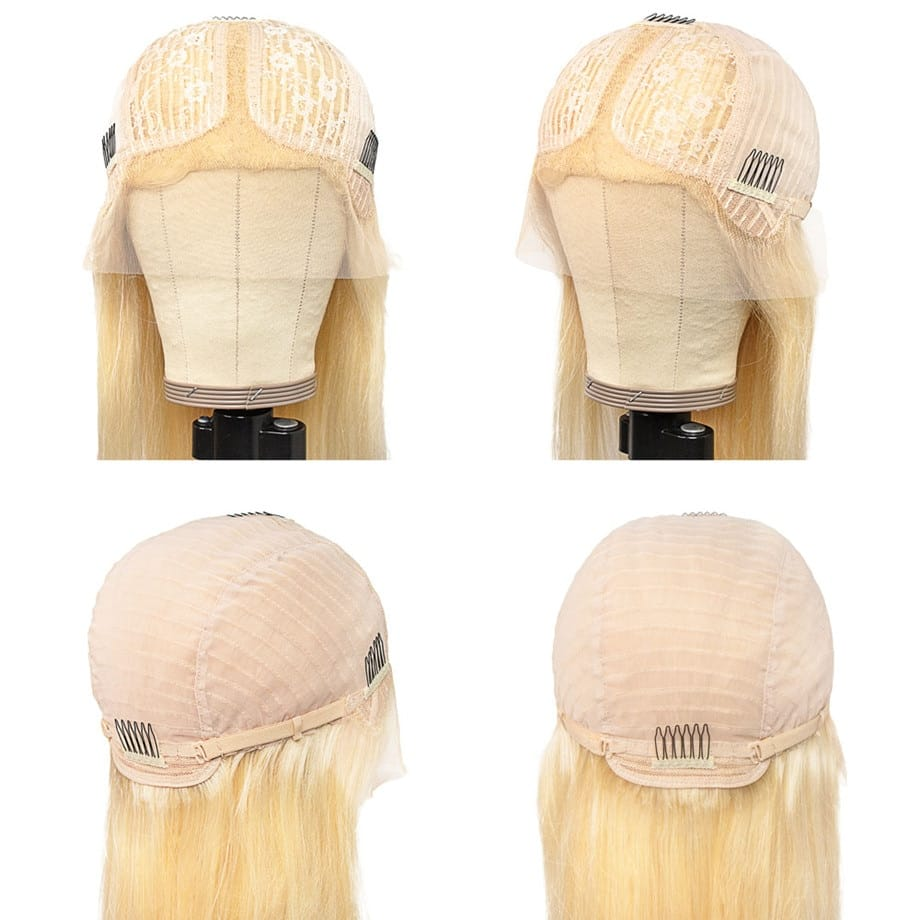 28- 30 Inch HD 613 Blonde Lace Front Wig