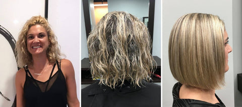 Keratin Treatment Wellington before and after Shirley