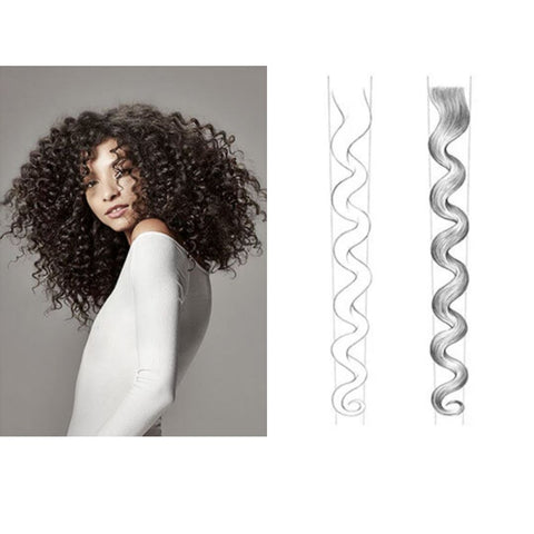 tight curl pattern and model