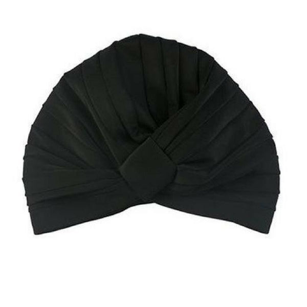 Amelia Shower Cap in Black-Louvelle-Sable Boutique